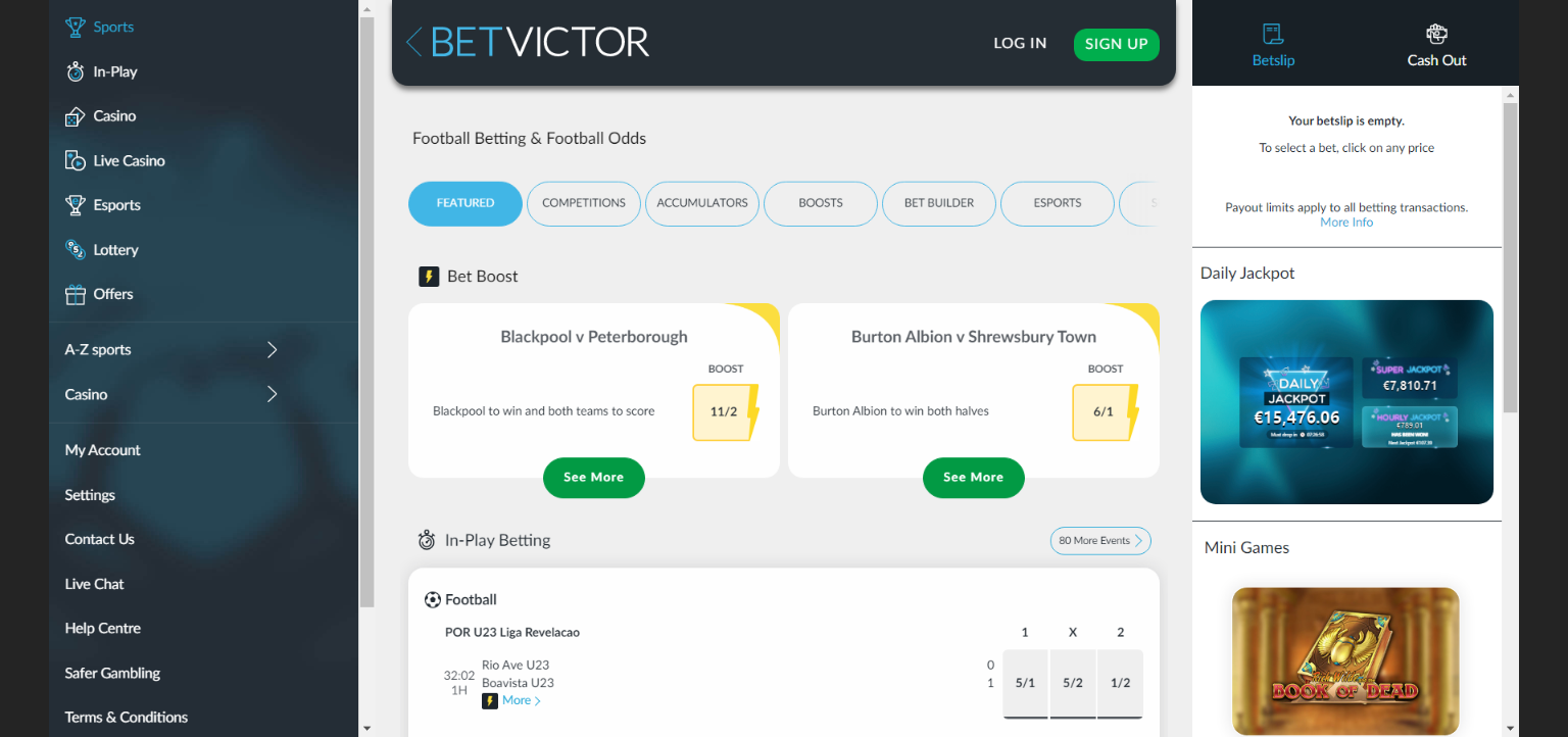betvictor sports