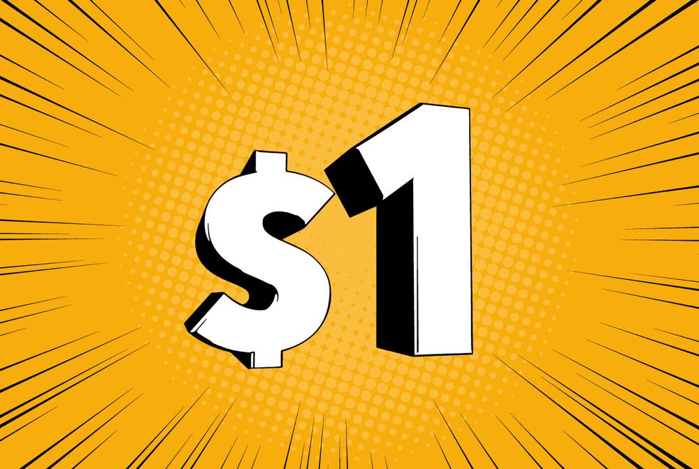 One Dollar Minimum Deposit