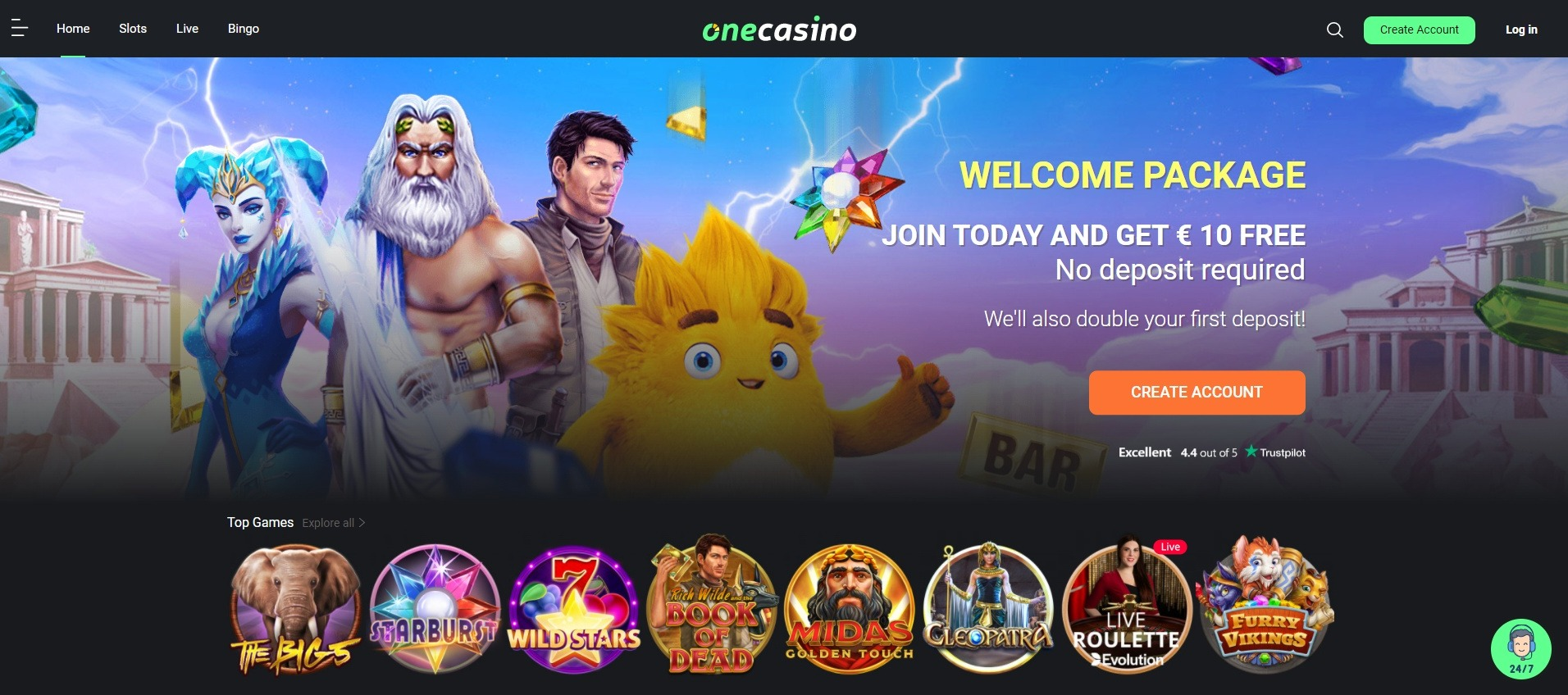 onecasino review