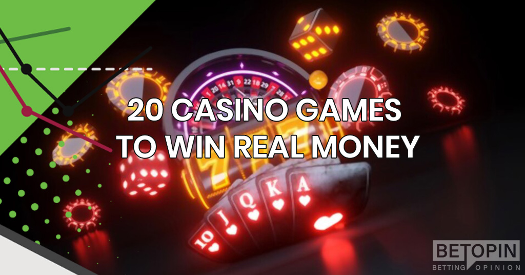 20 Casino Games to Win Real Money Without Leaving Your Home