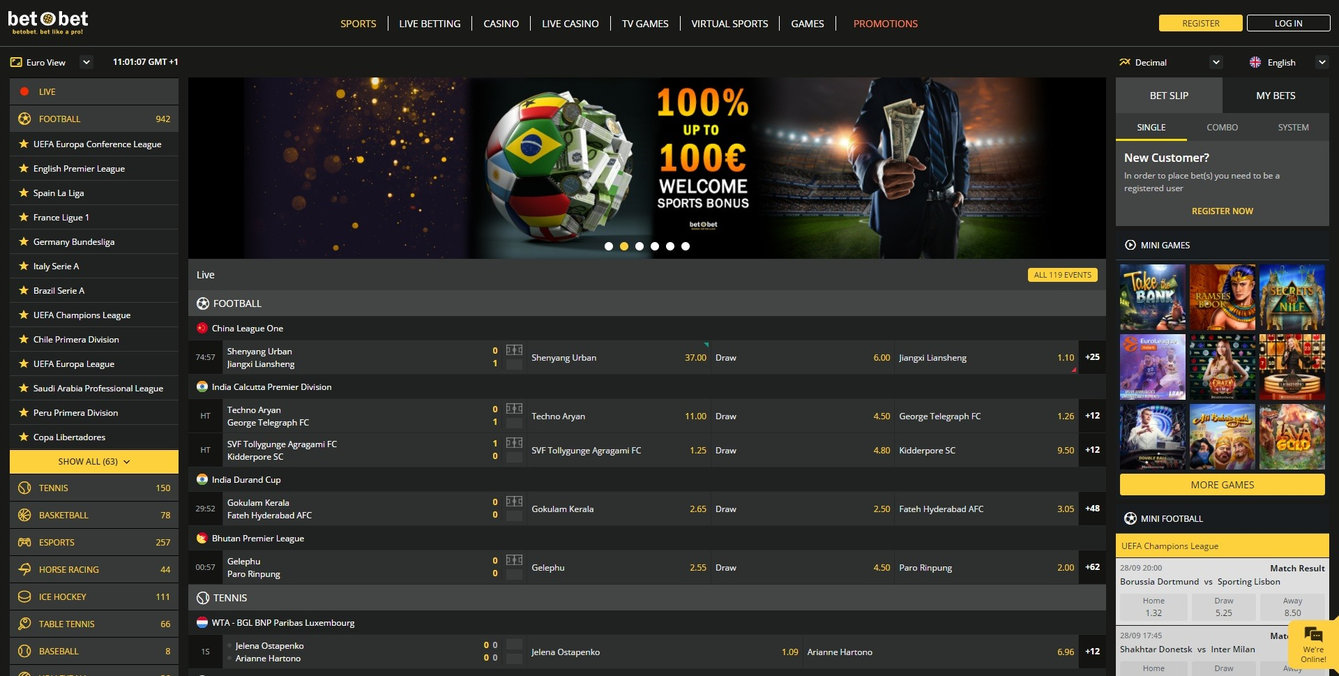 Betobet Sports and Markets