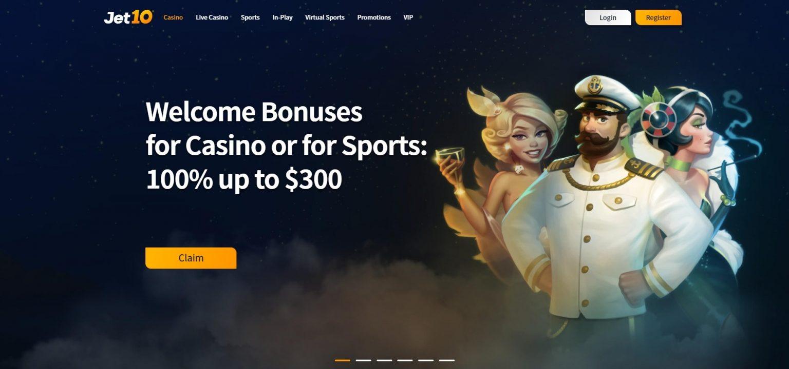 Jet10 Casino Bonuses and Promotions