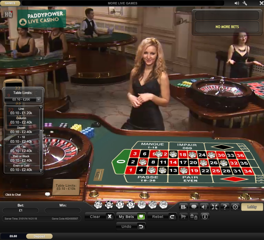 #1 Play Roulette in REAL Casino From Home