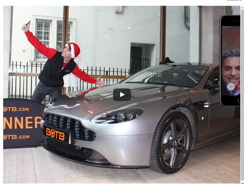 Botb To Win An Aston Martin You Should Defiantly Get Your Tickets