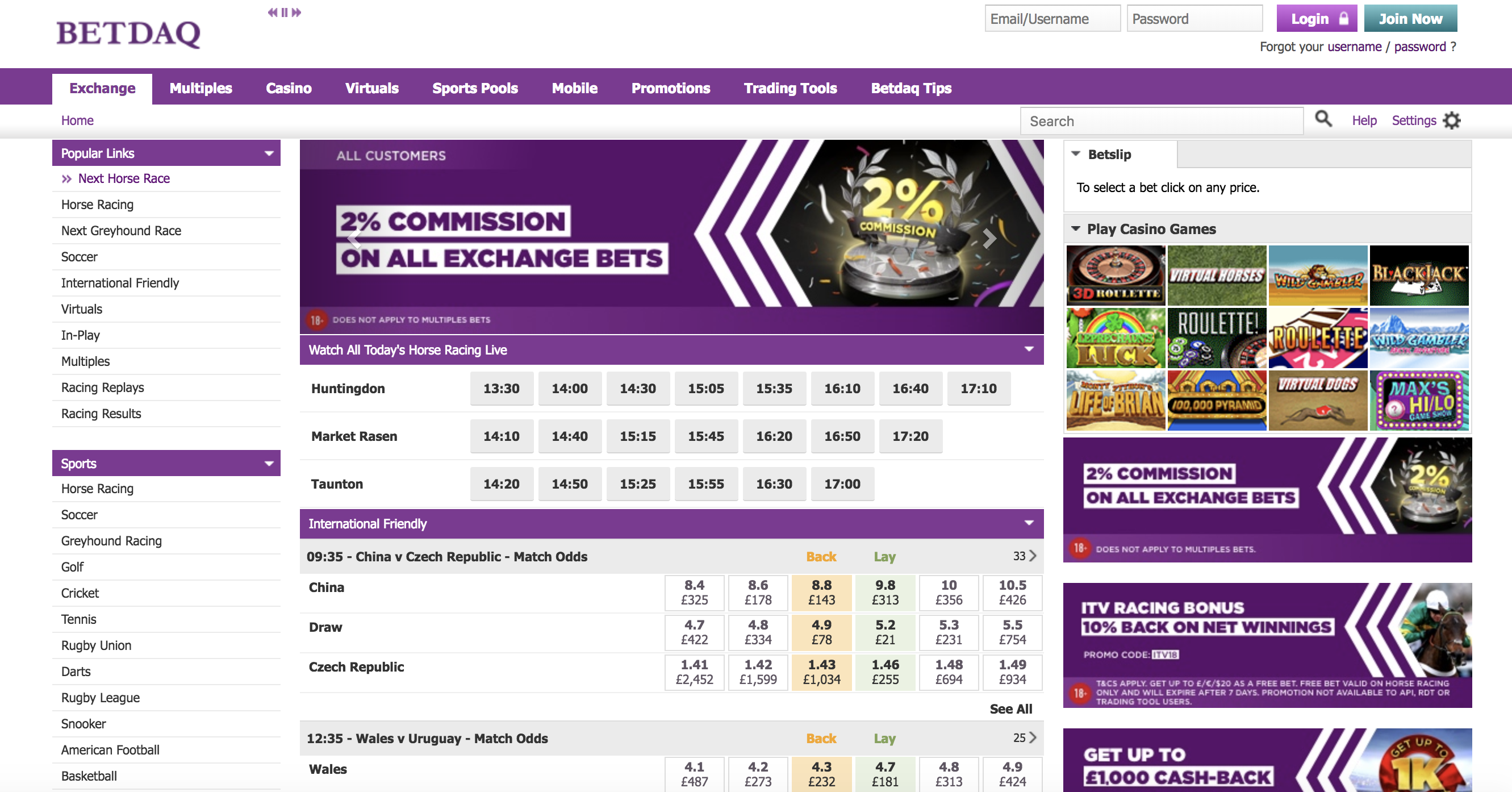 Fed up with Betfair? Here are three sites similar to Betfair