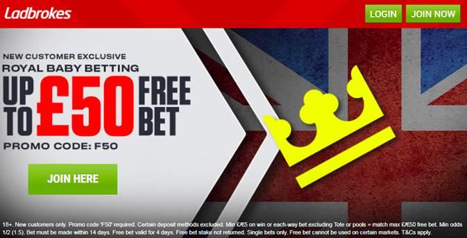 Royal baby name betting ladbrokes casino binary options x