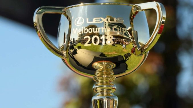 2018 Melbourne Cup Trophy