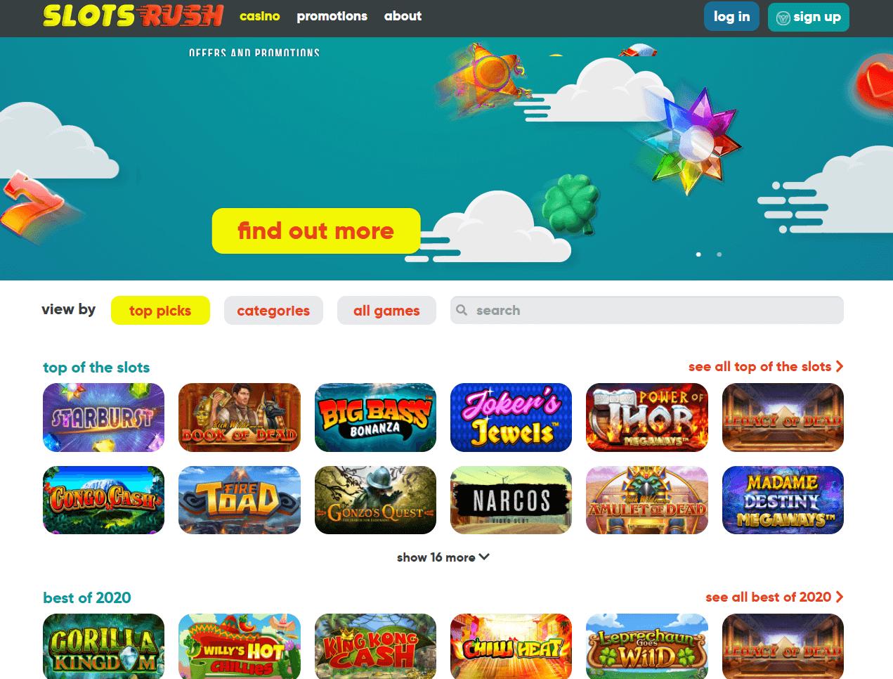 Slot Rush Casino