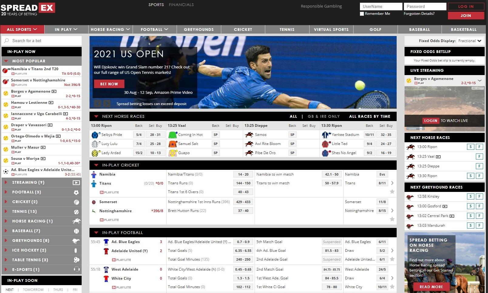 Spreadex Sports Review